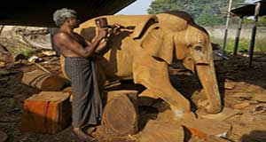 Wood carving centers